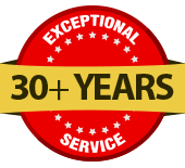 Expontional Service 30+ Years